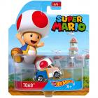 Hot Wheels Super Mario Toad kisautó