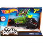 Hot Wheels Speed Winders Twisted Cycle szürke járgány