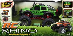 New Bright 4X4 Rhino Expedition RC Zöld autó