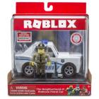 Roblox The Neighborhood of Robloxia Patrol Car Figura És Autó