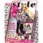 Barbie Fashionista - Luxus Divatbaba Szőrmével