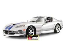 Burago Gold 1:18 Dodge Viper GTS Coupe