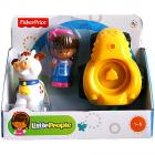 Fisher - Price - Little People - Mia és Traktor Járműszett