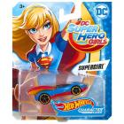 Hot Wheels DC Super Hero Girls Supergirl kisautó