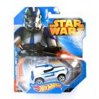 Hot Wheels Star Wars Clone Trooper karakter kisautó 1:64