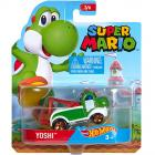 Hot Wheels Super Mario Yoshi kisautó