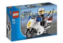 Lego City Rendőrmotoros