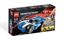 Lego Racers Power Racers Blue Sprinter