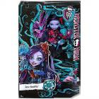 Monster High Jane Boolittle Virágos parti baba
