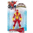 Pókember Web Warriors Iron Spider figura