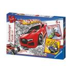 Ravensburger Hot Wheels Óriások Puzzle 3 x 49 db
