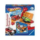 Ravensburger Hot Wheels Puzzle 3 az 1-ben