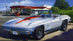 Revell-Makett Corvette 427 Convertible 1/25