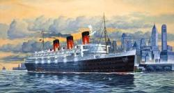Revell-Makett-Hajó-Luxury Liner-Queen Mary-1/570