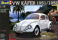 Revell Makett - Revell - 1-16 VW Kńfer 1951-52
