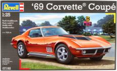 Revell Makett - Revell '69 Corvette Coupe
