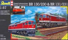 Revell Makett - Revell BR 130-230 & BR 131-231 Diesel locomotives