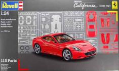 Revell Makett - Revell Ferrari California - close top