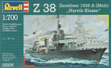 Revell Makett - Revell German Destroyer Z-38 - Narvik Class