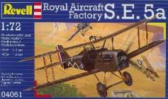 Revell Makett - Revell Royal Aircraft Factory S.E.5a