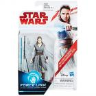 Star Wars Rey Force Link figura